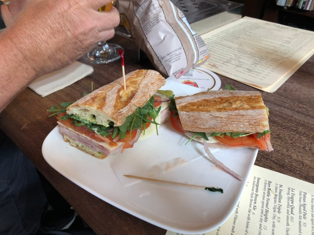 Ham and Cheese Sandwich at Trappist