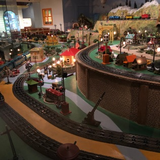 Model Train Set Left