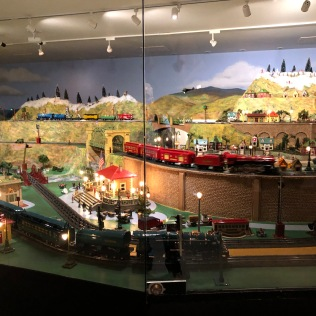 Model Train Set Right