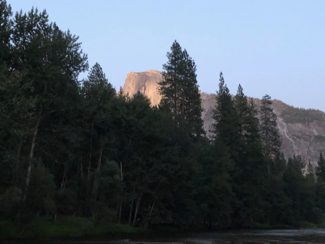 Half Dome from Housekeeping Camp