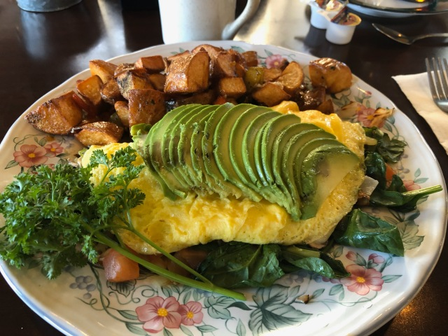 Omelet and those Potatoes