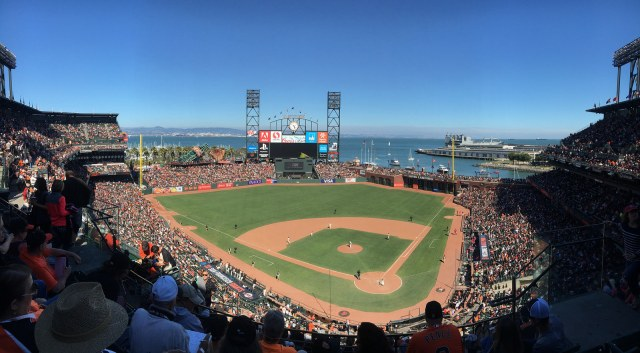 Oracle Park Daytime