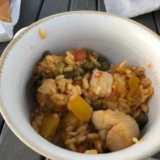 Scallop and Chicken Paella