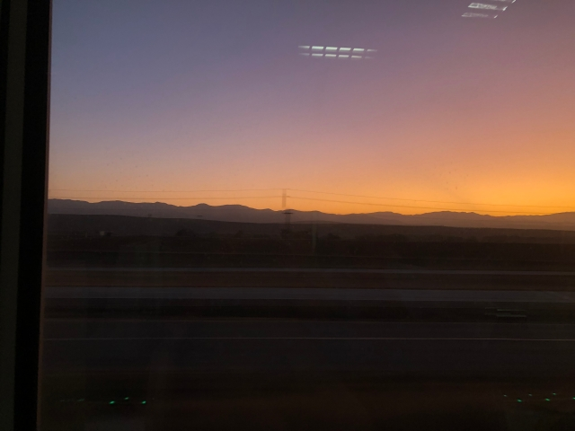 Sunset South of San Jose