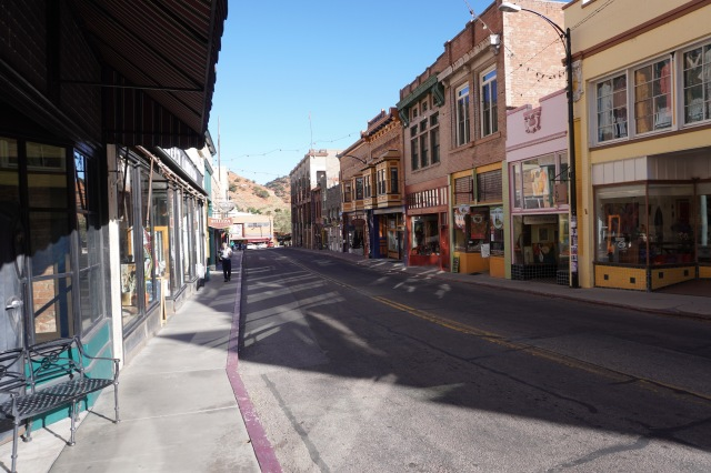 Bisbee's Main Drag