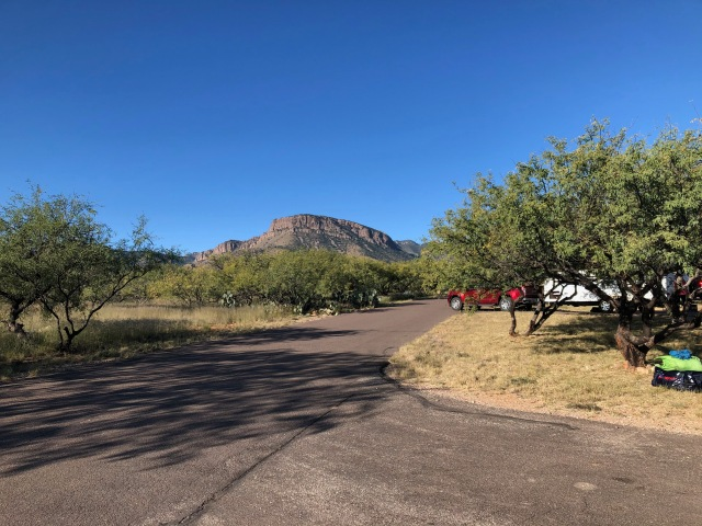 Camping at Kartchner Caverns
