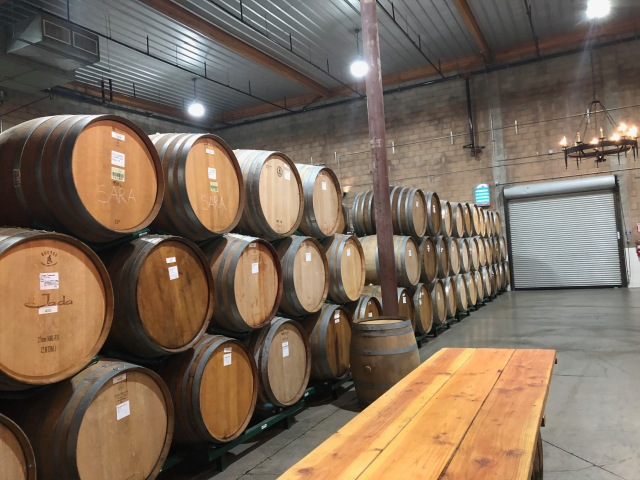One of the Barrel Rooms