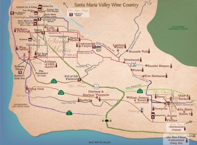 Santa Maria Wine Country