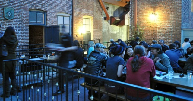The Patio at Trappist