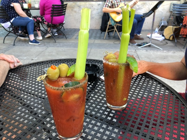 Those Bloody Mary's