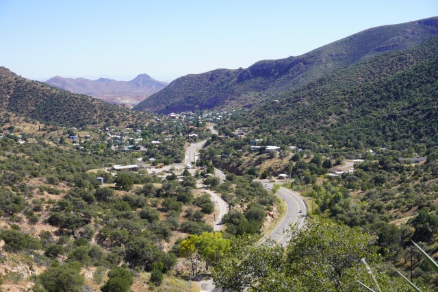 View Down to Bisbee