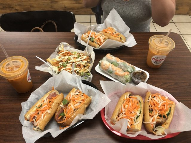 Bahn Mi's, Spring Rolls, and the Galbi Fries