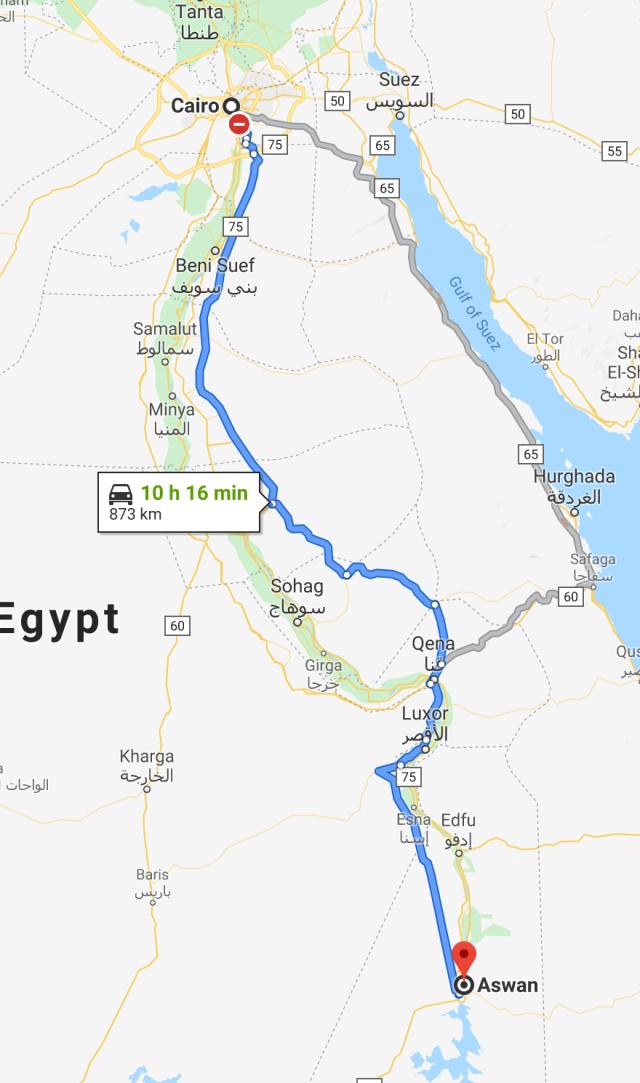 Cairo to Aswan