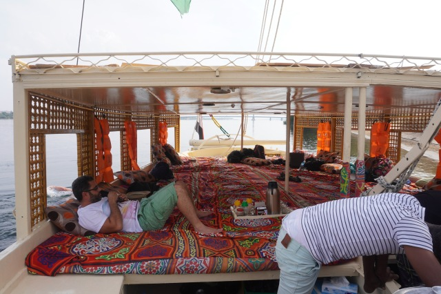 Interior View of Our Felucca