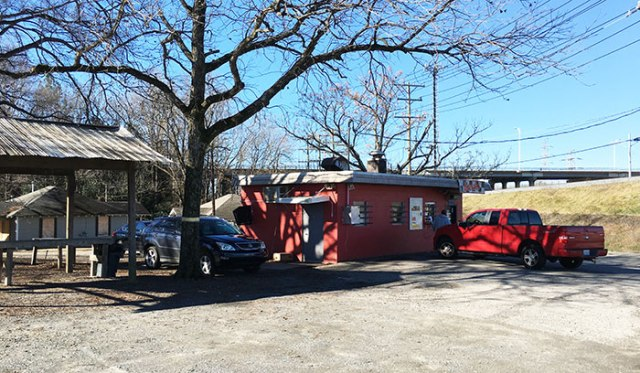 parking-lot-at-brooks-sandwich-shop