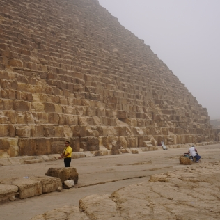 The Great Pyramid Up Close