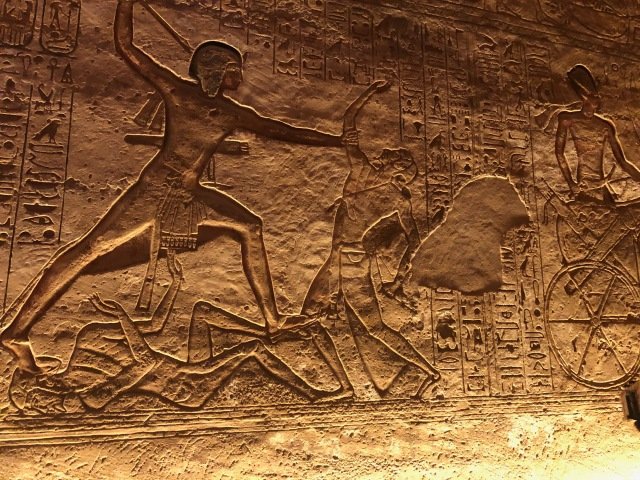 Ramses II Slaying a Foe