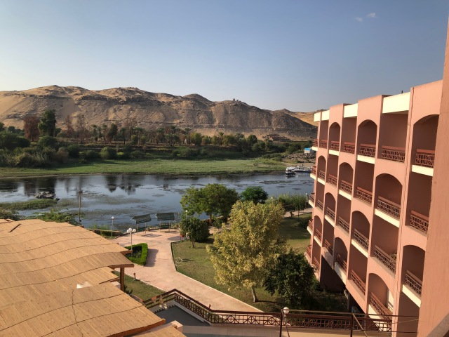 View from our Room at the Pyramisa