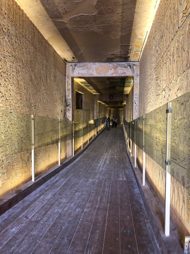 A Long Passageway in Merenptah's Tomb