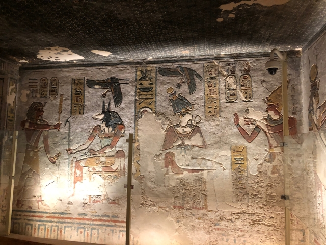 In Ramses III Making Offerings