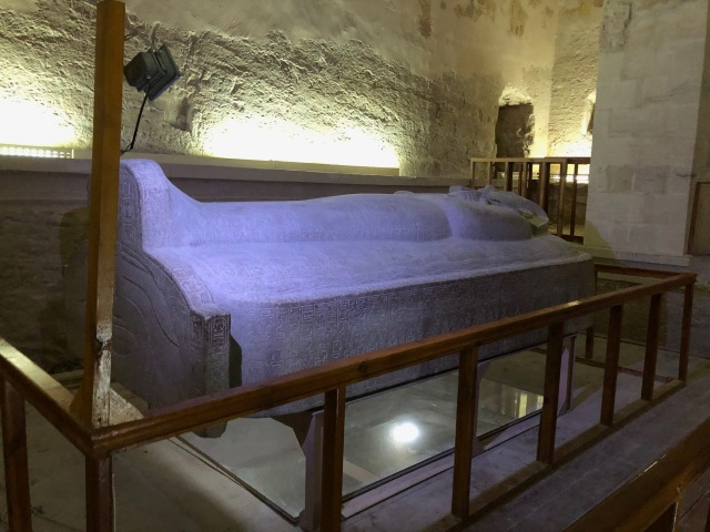 Merenptah's Stone Sarcophagus