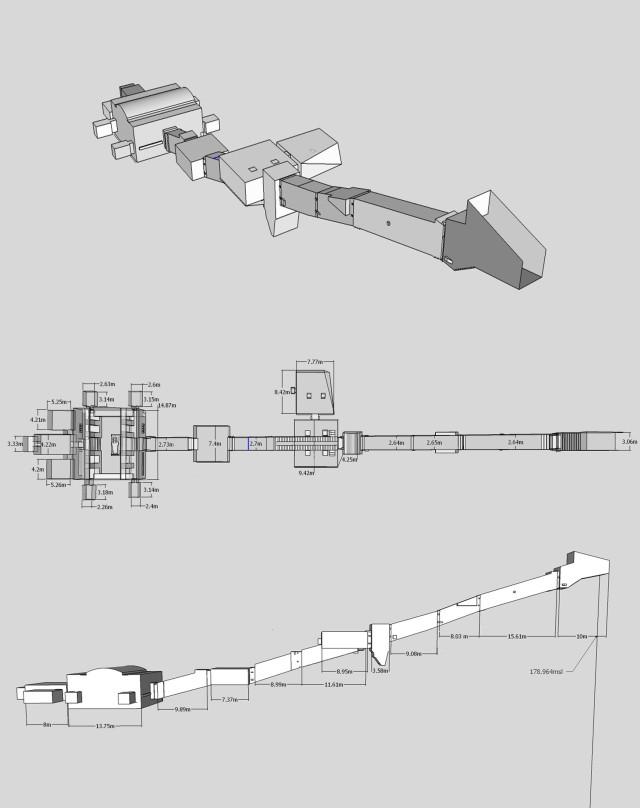 Merenptah's Tomb Schematic