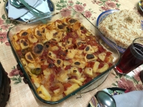 Potatoes with Tomatoes and Onions