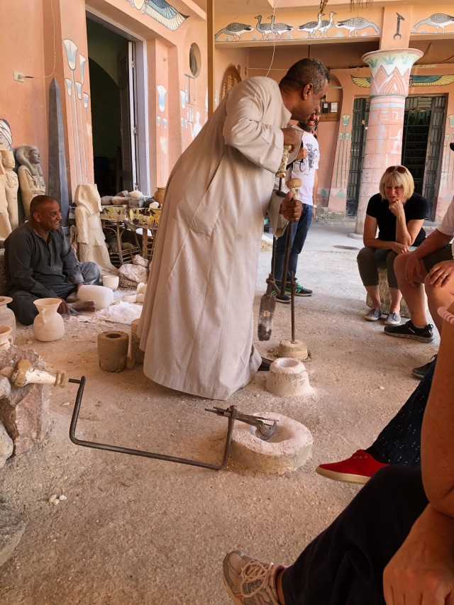 Preparing the Stone