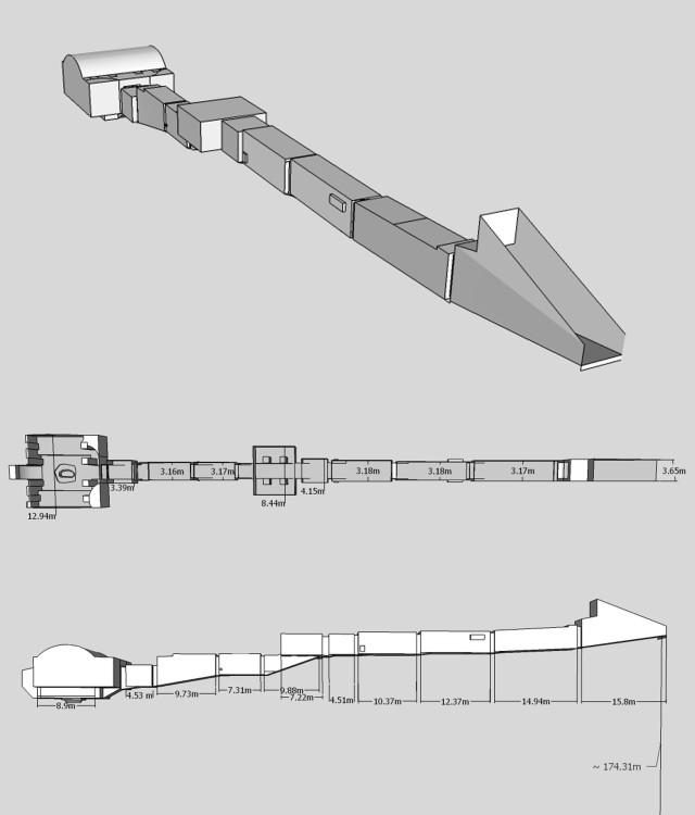 Rameses VI Tomb Schematic