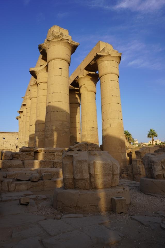 Shadows on Columns