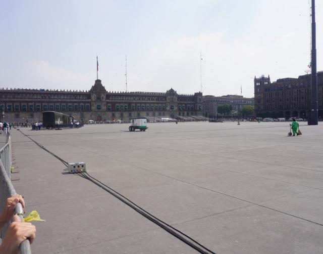 Plaza de la Constitucion and the National Palace
