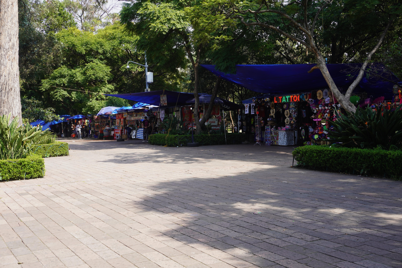 Souvenir and Food Vendors