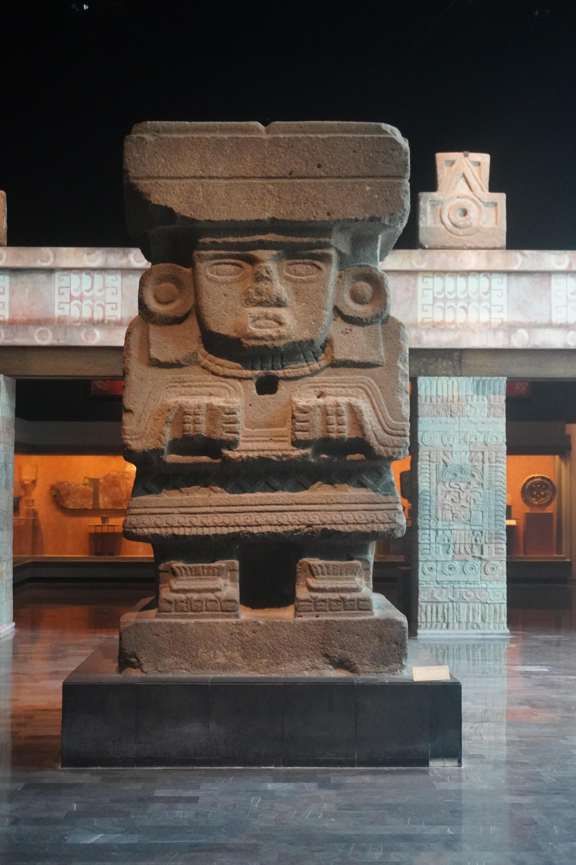 Statue of Chalchiuhtlicue (Aztec)