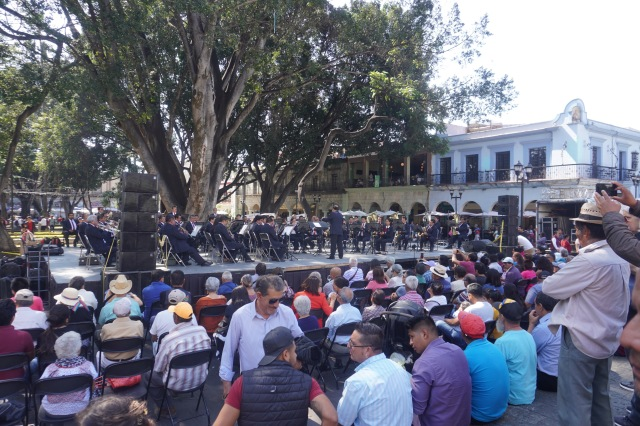 Band Concert in the Zocalo