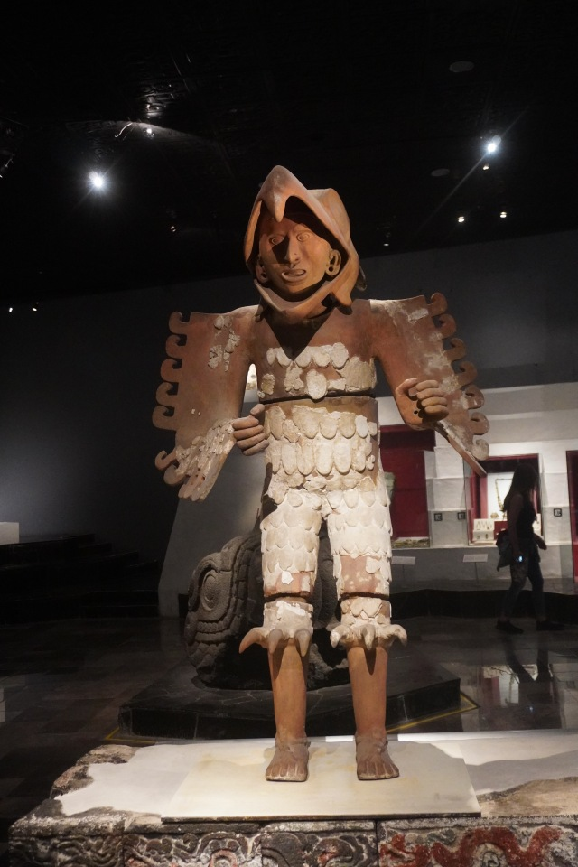Eagle Warrior who represents the rising sun