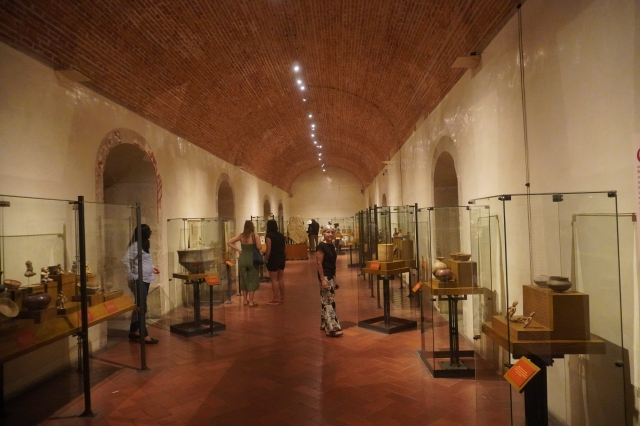Exhibit Room at the Museo