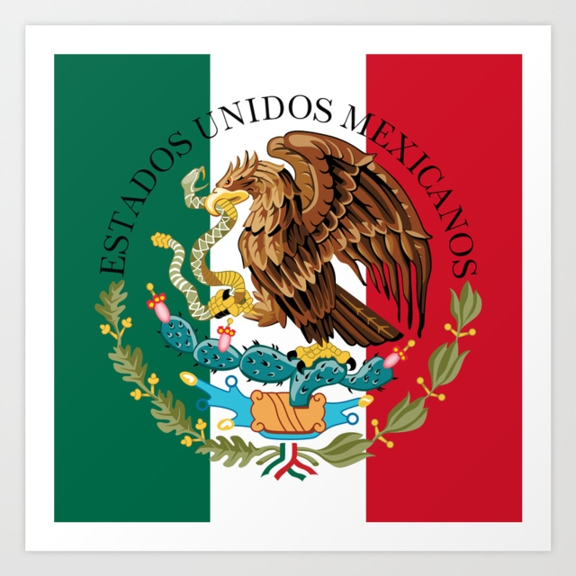flag-of-mexico-augmented-scale-with-coat-of-arms-overlaid-prints