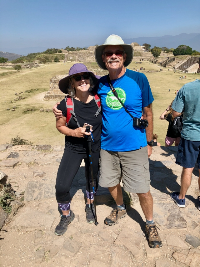 J and J at Monte Alban