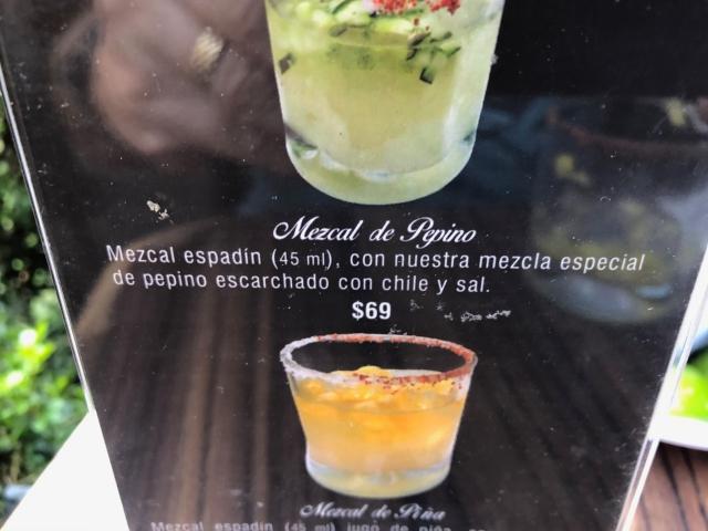 Mezcal Cocktail for $6