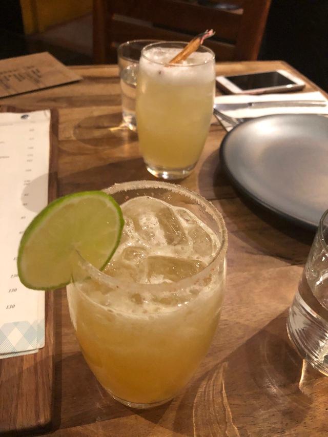 Mezcal Margaritas