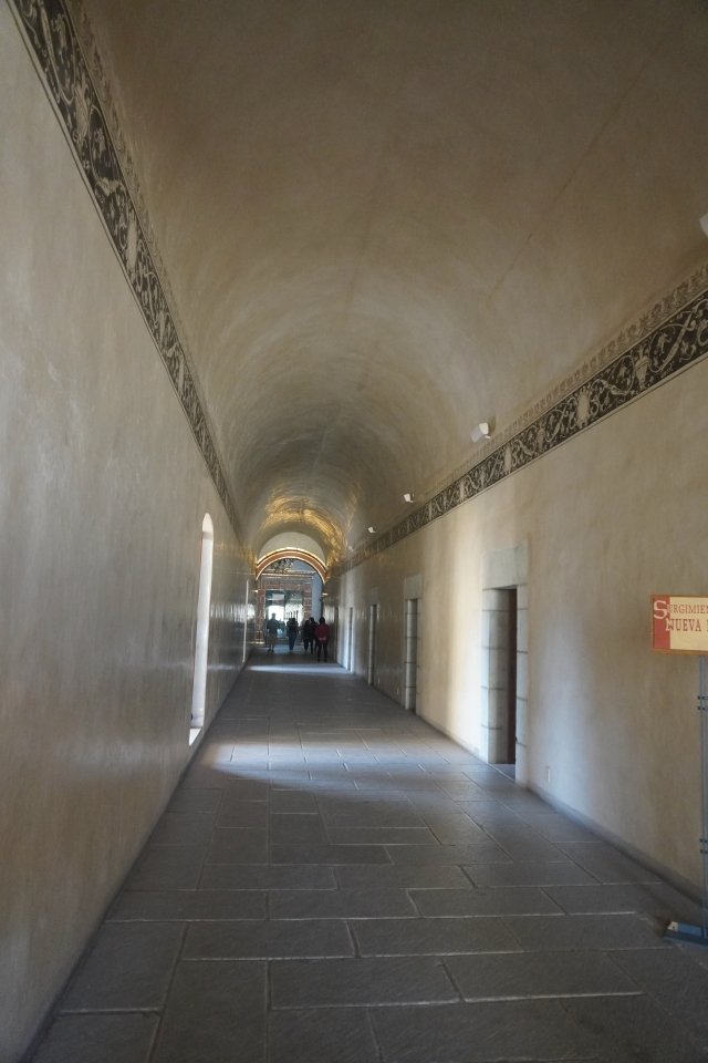 One of the Long Corridors
