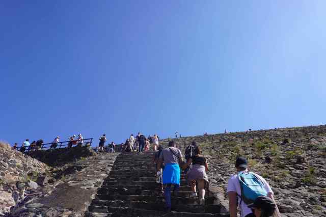 Those Steep Steps a the Sun