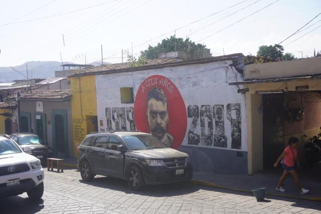 Mural at Espacio Zapata