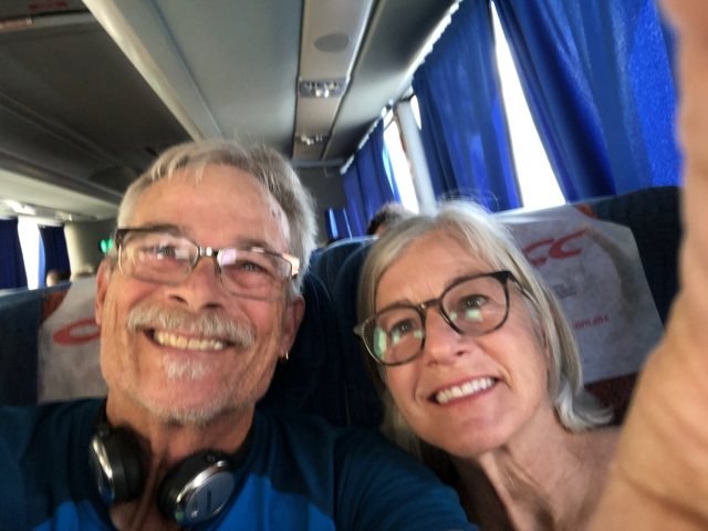 J and J on the Bus