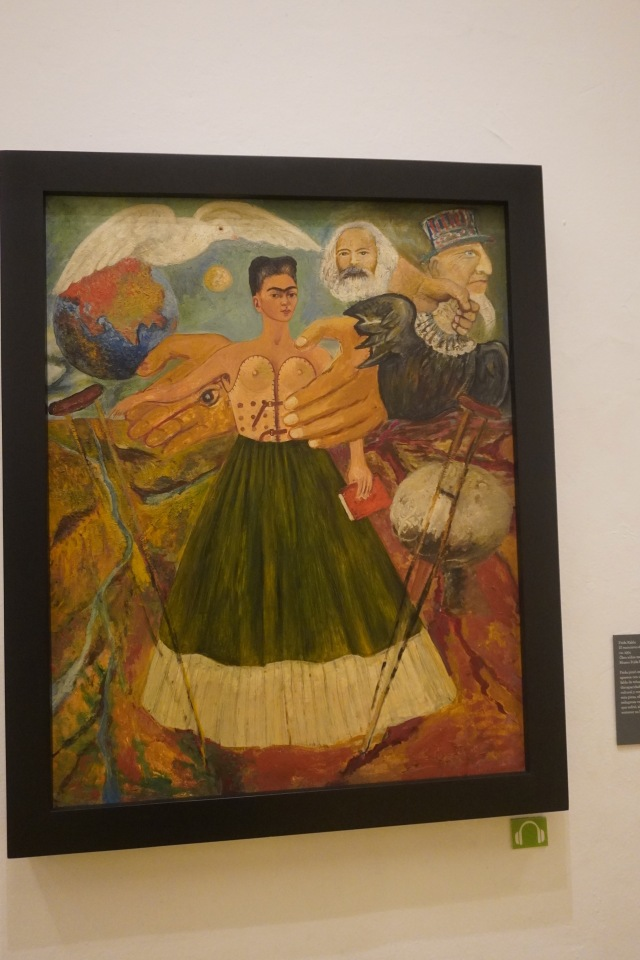 Self Portrait of Frida