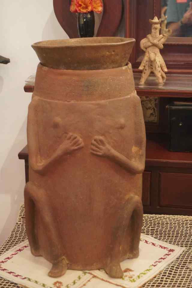 Urn with Frieda's Ashes
