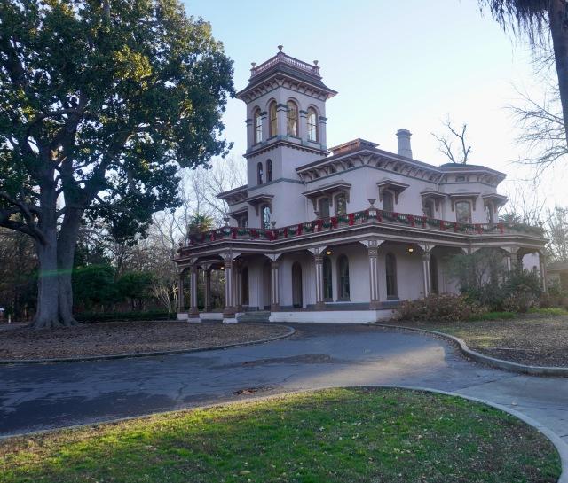 Bidwell Mansion Side