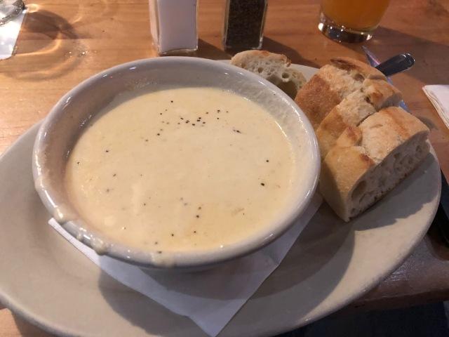 Bier Cheese Soup