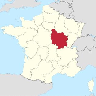 Burgundy Region in France