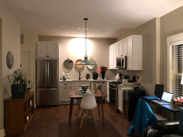 Large Front Room and Kitchen